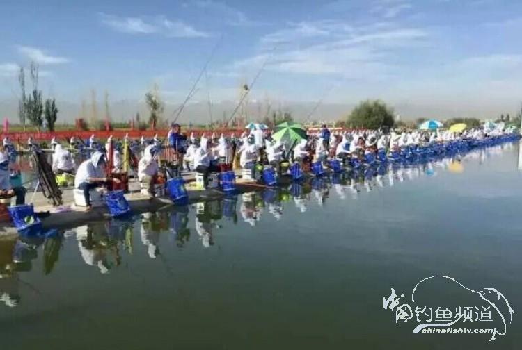 """2017甘肃省酒泉市首届酒泉""""钓协杯""""钓鱼大奖赛"""