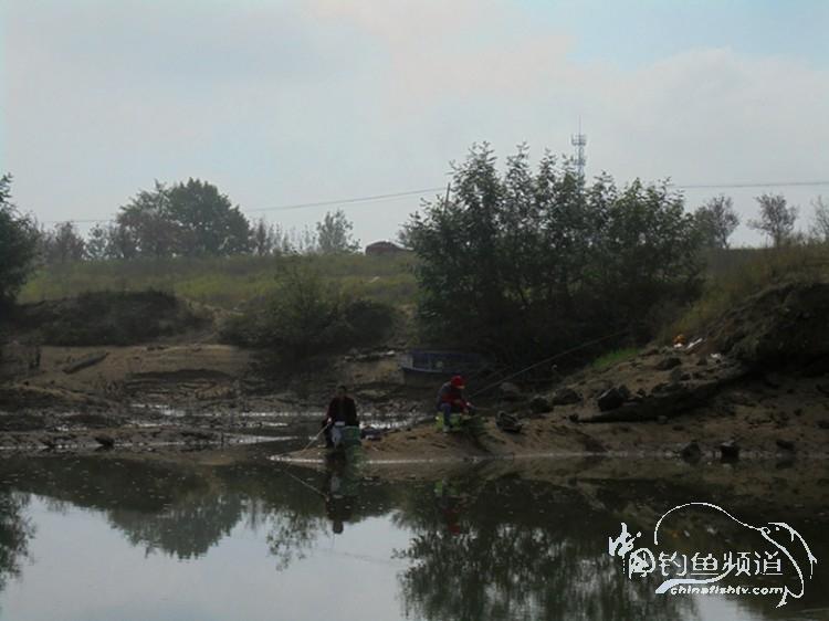 水退钓银滩,快乐又一天